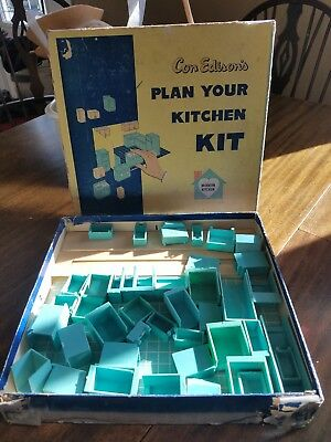 Vintage Con Edison's Plan Your Kitchen Kit