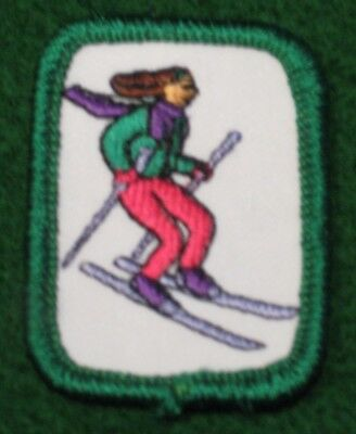 SKIING SKI Girl Scout Cadette Senior Interest Project IP Badge Council's Own