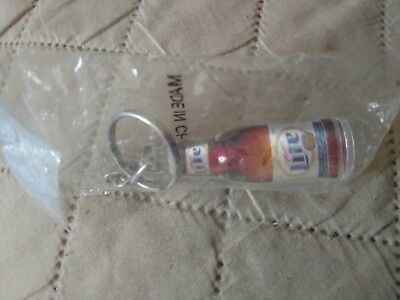 Vintage Collectible Miller Lite Beer Key Ring never opened
