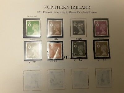 Gb Northern Ireland  Regional Decimal Definitives; Lot Of 51 Mainly Used