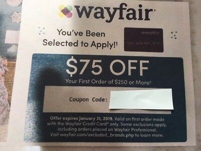 WAYFAIR COUPON: $75 off 1st Order of $250 more w/credit crd-100% to Pet Shelter