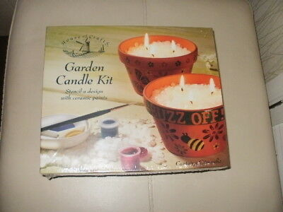 House of Crafts - GARDEN CANDLE Kit - HC550 **NEW & SEALED**