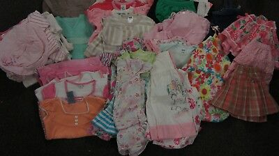 BULK LOT MIEXED  girls clothing Size 1 - 37+ items