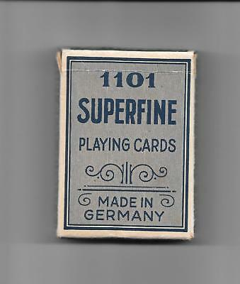 Superfine Playing Cards 1101, Best Quality, ca. 1950