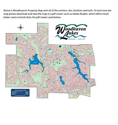 Camping plot in Woodhaven Lakes