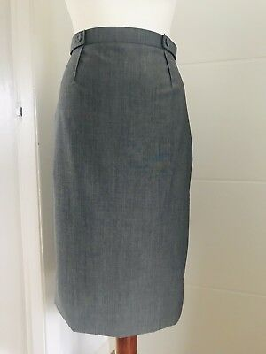 Elegant Hobbs grey wool pencil skirt, size 12, new with tags, RRP £99