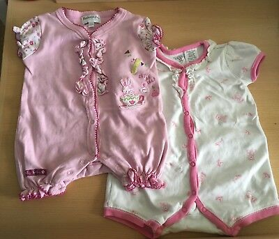 Baby Girl Rompers short 3-6 Months