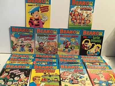 Vintage Beano Comic Library - Job Lot of  18 Issues