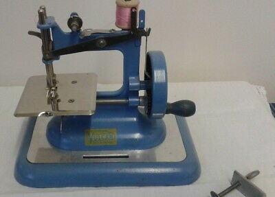 Vintage collectable heavy metal Vulcan Miniature toy sewing machine