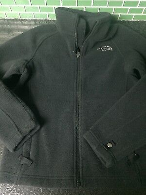 Youth Boys The North Face Black Fleece Jacket Size Small 7/8
