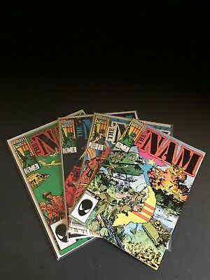THE' NAM V1 #'s 1-4 1987  NEWSTAND & DIRECT ISSUES  NM/NM+