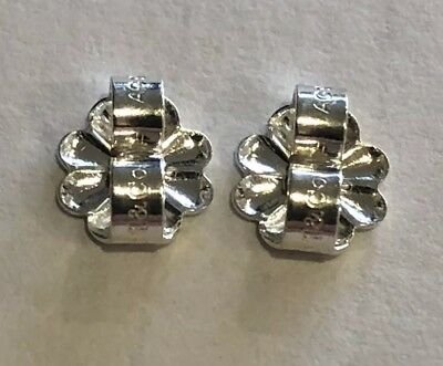 New Tiffany Co Sterling Silver 925 Erfly Flower Replacement Earring Backs