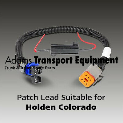 LED Autolamps Holden Colorado RG Tray Conversion Patch Leads - 2pk - 2017 - 2018