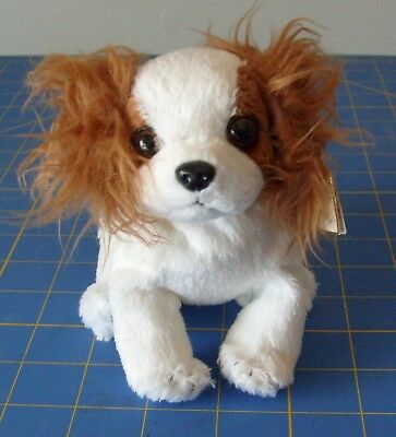 Ty Beanie Babies - Regal the King Charles Spaniel Dog - Retired/Authentic