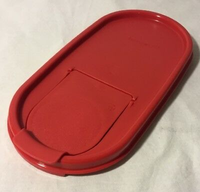 Tupperware Modular Mates Oval Pour-All Seal Popsicle Red NEW