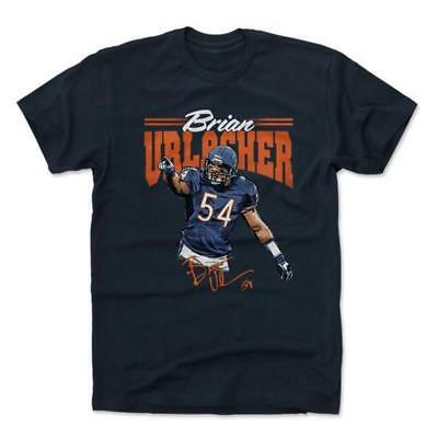 Brian Urlacher Chicago Bears 500 Level NFL HOF WHT T-Shirt - Navy
