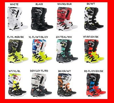 Alpinestars 2019 Tech 7 Motocross Dirtbike Offroad Boot ATV
