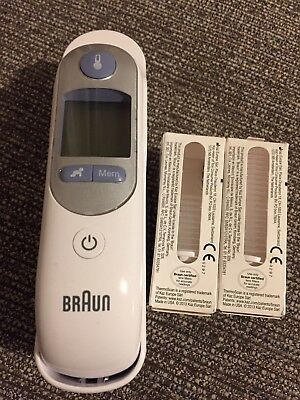 Braun Thermoscan Baby Toddler Thermometer Sealed Box Of Covers/Lens Filters LF20
