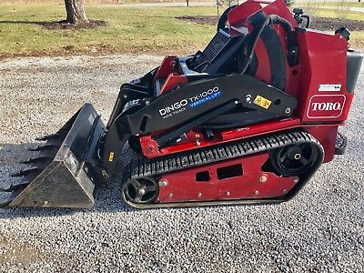 2015 TORO DINGO TX1000 WIDE TRACK COMPACT UTILITY LOADER -524 Hrs - USED