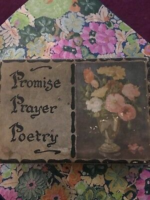 Promise Prayer Poetry Box Rare And Unique
