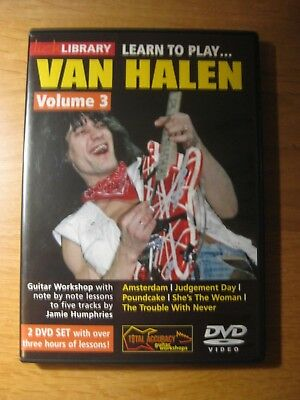 Learn To Play Van Halen Volume 3 - Lick Library  DVD