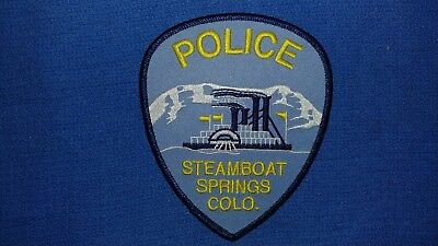 Steamboat Springs Police Patch