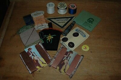 Lot 3- Job Lot mixed Collection of vintage sewing related items