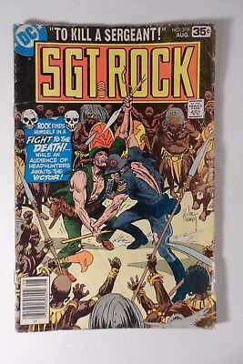Sgt. Rock  #319 DC Comics 1978 Good/Gd+