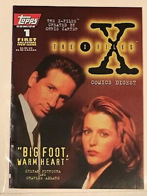 X Files Comic Digest #1  Mint Condition Bagged/boarded Since New