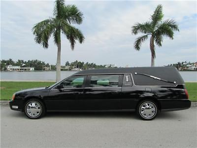 2004 Cadillac DeVille FUNERAL COACH HEARSE LOW 45K MILES CLEAN CARFAX!!! 2004 CADILLAC DEVILLE FUNERAL COACH HEARSE 45K MILES CLEAN CARFAX NO RESERVE!