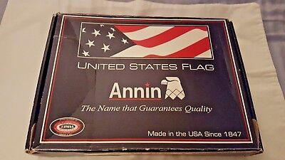 United States of America Flag 4 x 6 Feet all Weather Nylon Made in U.S.A
