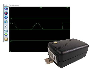 0 to +5V Low Cost 12 Bit Voltage Data Logger USB Data Acquisition System