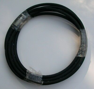 "LT75240ME; 20ft x 1/4"" High Pressure Grease Hose with 1/4"" NPT male couplings"