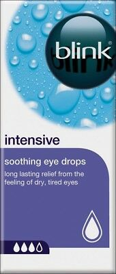 Blink Intensive Soothing Eye Drops 10ml Protect Tired, Dry Feeling Eyes