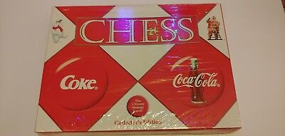Coca Cola VS Coke Chess Set Game Collector's Edition Holiday Christmas Sealed