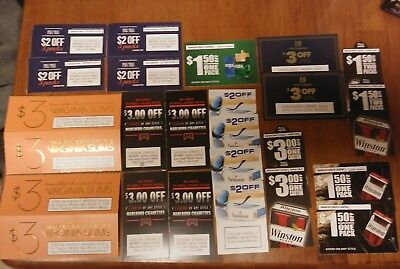 $59.50 In Marlboro,pall Mall,parliament,winston,virginia Slims And More Coupons!