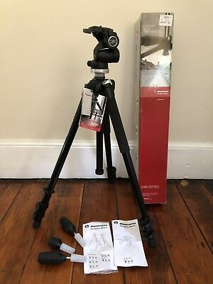 Manfrotto 294 Kit With 804RC2 Head