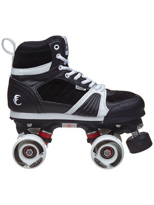 Chaya Jump Black Outdoor Quad Park & Ramp Roller Skates