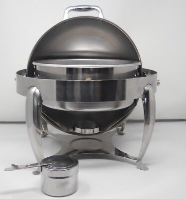 4 QT Roll Top Chafing Dish  Made By Gourmet buffet