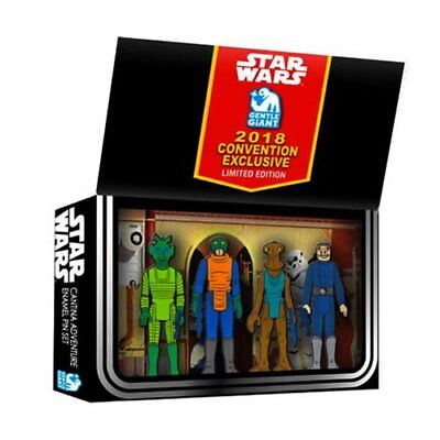 Star Wars Vintage Action Figure Cantina Adventure Boxed Set Pins