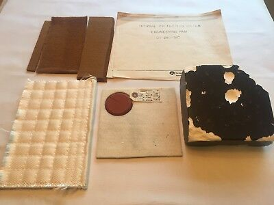 Collection of the Thermal Protection System w/ Flown Tile from the Columbia
