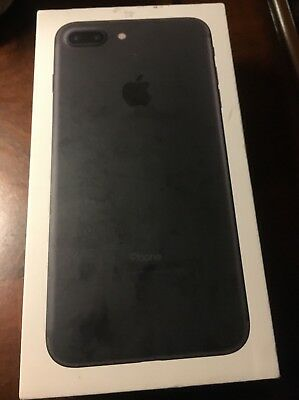 Apple iPhone 7 plus  Empty Box ONLY 32GB No Phone And No Accessories  black