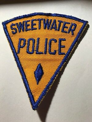 Old Sweetwater Florida FL Police Patch