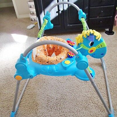 66196ecde FISHER PRICE GALLOPING Fun Jumperoo Baby Jumper Bouncer -  50.00 ...