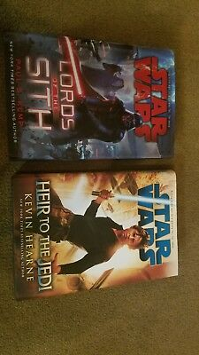 Star Wars Hardcover First edition Heir To The Jedi And Lords Of The Sith