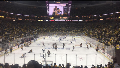 2 Tickets - Pittsburgh Penguins vs. Florida Panthers, 3/5, Lower Level Aisle