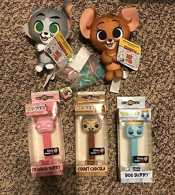Funko Mystery Box Pop Pez Monster Cereals Plush Tom & Jerry Exclusives