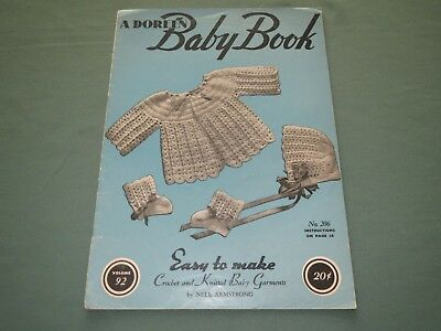Vintage Doreen Baby Book #92 Crochet Knit Pattern Book Nell Armstrong