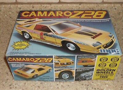 Mpc Camaro Z28 Chevy's Super Performance Coupe 1/25 Model Not Yet Started 1-0747