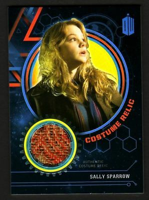 Doctor Who Extraterrestrial Encounters Sally Sparrow Costume Relic Card 04 Of 99